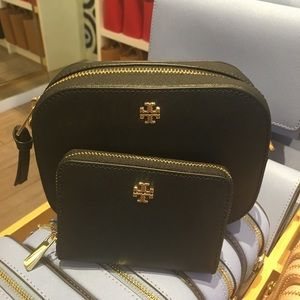 Tory Burch Emerson Crossbody Bag with coin case